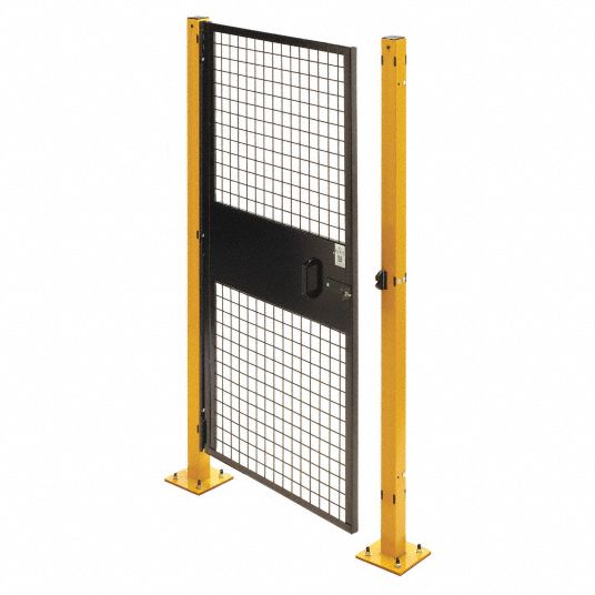 Machine Guard Swing Door, 3 ft. W