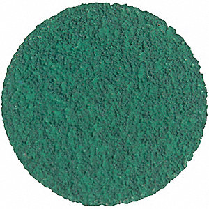 "3"" Non-Woven Quick Change Disc, T-Lock Top, 50, Coarse, Zirconia Alumina, 1 EA"