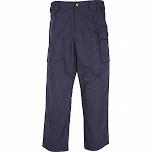 "Men's Taclite Pants. Size: 44"", Fits Waist Size: 44"", Inseam: 36"", Dark Navy"