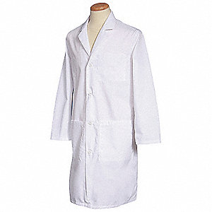 Lab Coat,3XL,White,43-1/4 In. L