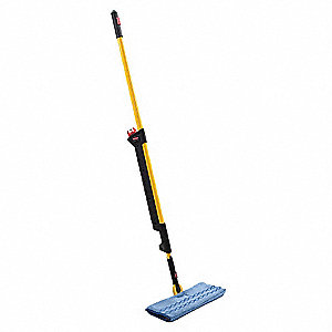 "Plastic Spray, Double-Sided Spray Mop, 56"" Handle Length, 1 EA"