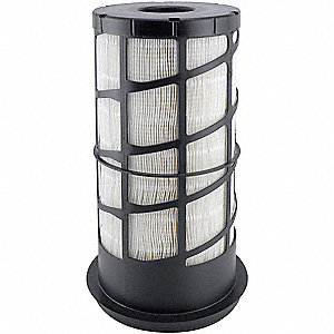 Air Filter,6-3/8 and 7-11/16 x 14-1/8 in