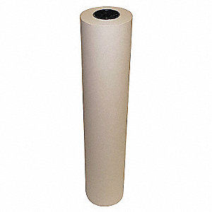"Flame Retardent Paper, 80 lb. Basis Weight, 300 ft. Length, 42"" Width, White Color"