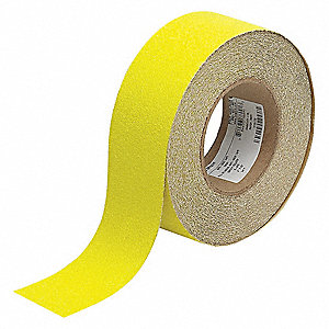 "60 ft. x 2"" Oxide Grit Antislip Tape, Yellow"
