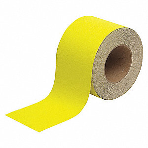 Anti-Slip Tape,Yellow,4 in x 60 ft.