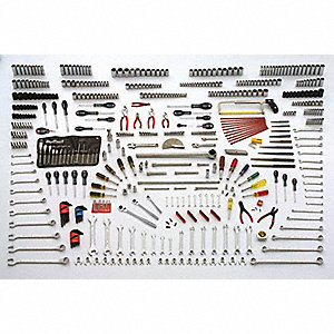 SAE and Metric Master Tool Set, Number of Pieces: 687, Primary Application: General Purpose