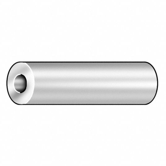 Round,  Spacer,  Steel,  Chrome-Plated,  3/4 in Outside Dia.,  PK 5