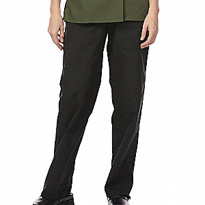 Unisex Scrub Pant, Black, Medium