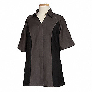 Women's Shirt, Granite/Raven, L