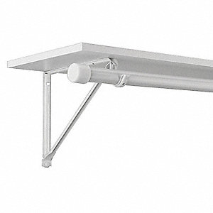 Standard Duty Shelf And Rod Bracket