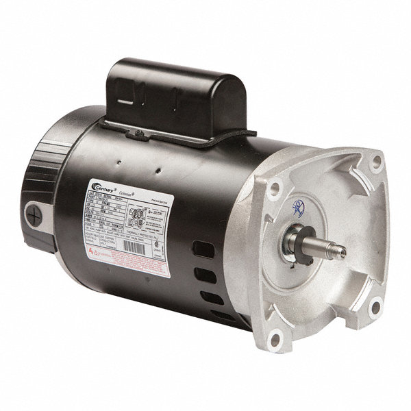 Century 1 2 hp square flange pool pump motor permanent for Square flange pool pump motor