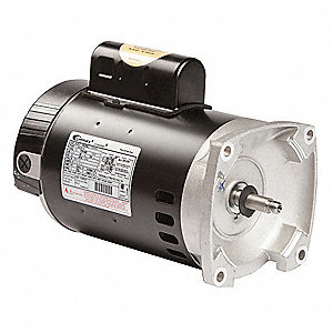 Century 3 4 hp square flange pool pump motor permanent for Cheap pool pump motors
