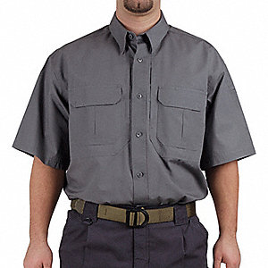 Woven Tactical Shirt, Sage, 2XL