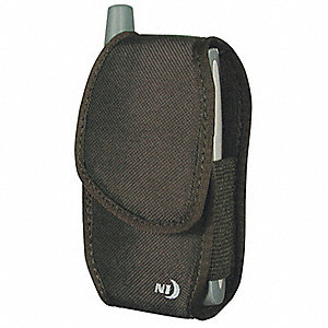 "Sport Case Tone Medium, Black Nylon 420 Dobby, 1-1/2"" Height, 2-5/8"" Width, 4-1/2"" Depth"