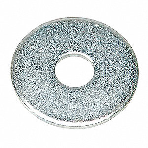 "Washer,1/2"" Bolt,St,1-1/2"" OD,PK50"