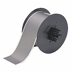 "Indoor/Outdoor Vinyl Film Tape, Gray, 2-1/4""W x 100 ft."