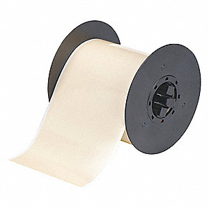 "Indoor/Outdoor Polyester Low-Halide Pipe Tape, Tan, 4""W x 100 ft."