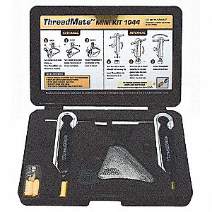 Thread Repair Kit, w/Nylon Pads,3 Pcs