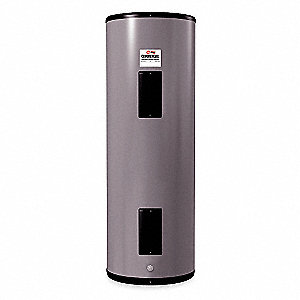 Commercial Electric Water Heater, 50 gal. Tank Capacity, 480VAC, 6000 Total Watts