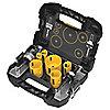 """Kit de Sierra Perforadora para Plomería para Metales, Número de Piezas 9, Rango de Tamaños de Sierra: 3/4"""" a 2-1/4"""""""