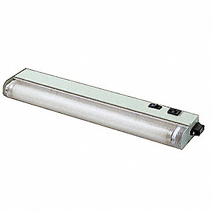 Enclosure Light, Carbon Steel, Light Gray Powder Finish, For Use With: Steel Enclosures, 1 EA