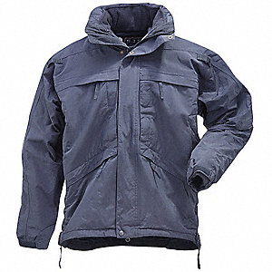 "3 in 1 Parka, M Fits Chest Size 38"" to 40"", Dark Navy Color"