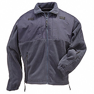 Tactical Fleece Jacket,Dark Navy,M