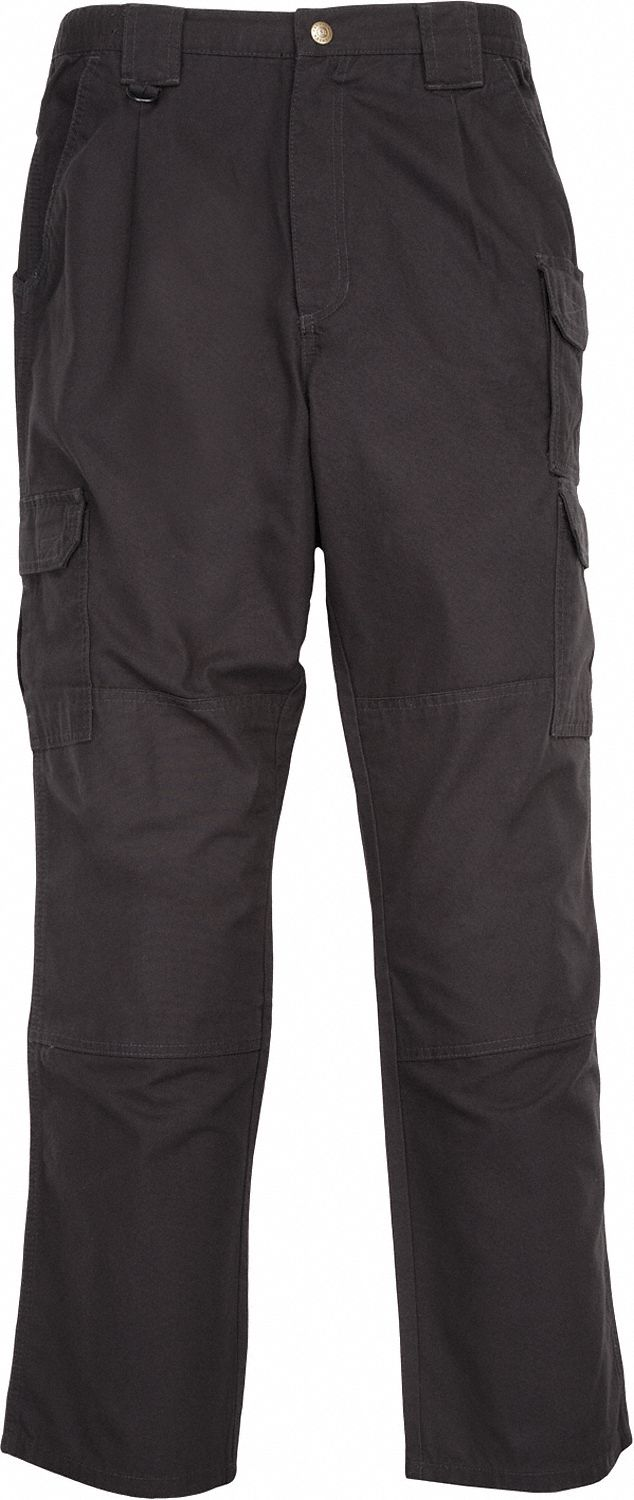 Men's Tactical Pants. Size: 38 in, Fits Waist Size: 38 in, Inseam: 30 in, Black