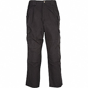 "Men's Tactical Pants. Size: 40"", Fits Waist Size: 40"", Inseam: 30"", Black"