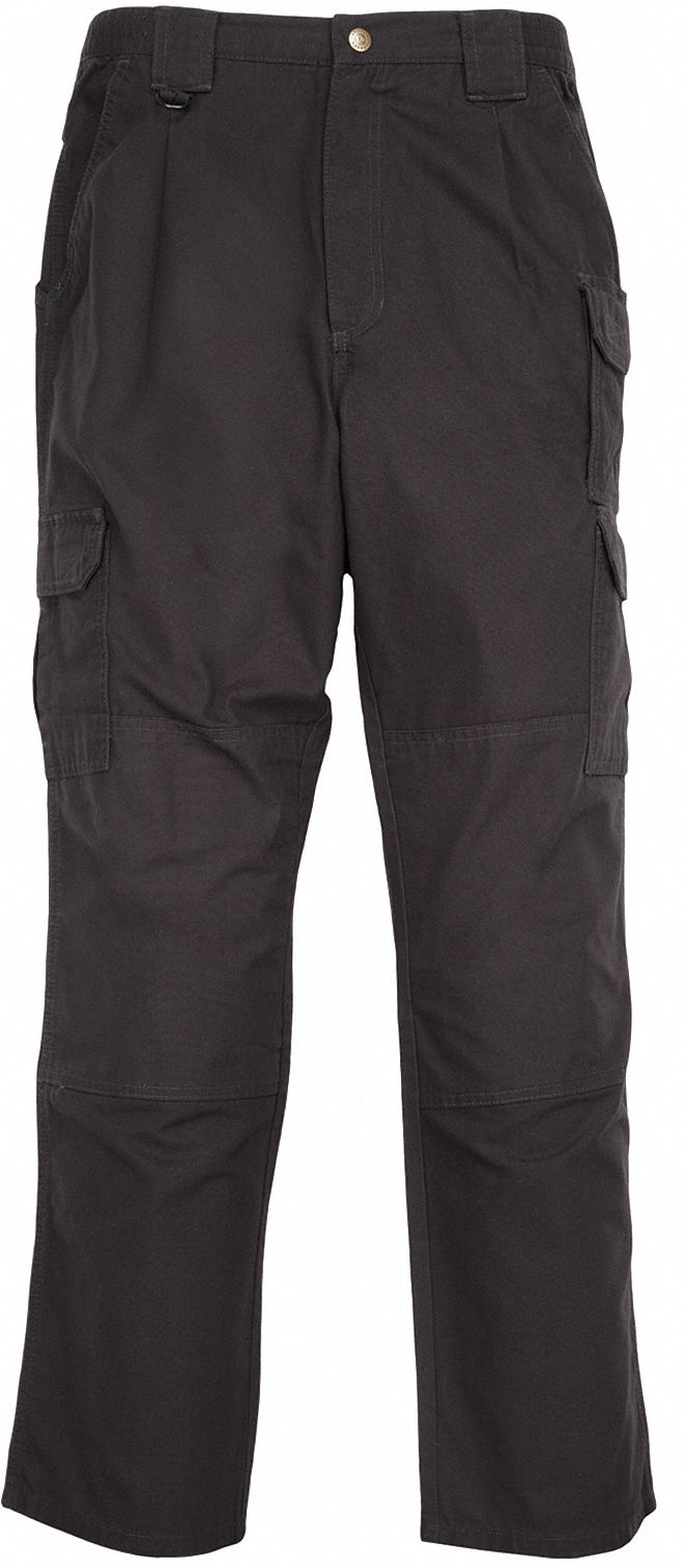 Men's Tactical Pants. Size: 34 in, Fits Waist Size: 34 in to 35 in, Inseam: 32 in, Black
