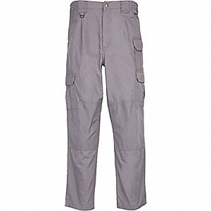 "Men's Tactical Pants. Size: 30"", Fits Waist Size: 30"" to 31"", Inseam: 32"", Gray"