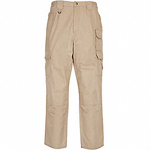 "Men's Tactical Pants. Size: 44"", Fits Waist Size: 44"" to 45"", Inseam: 34"", Coyote"