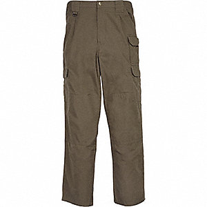 "Men's Tactical Pants. Size: 40"", Fits Waist Size: 40"" to 41"", Inseam: 34"", Tundra"