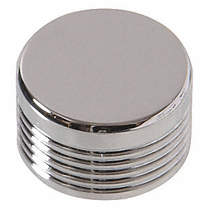 M6 Hex Spoke Chrome Bolt Cap