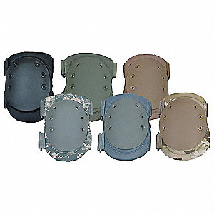 Hard Shell 2-Strap Knee Pads, Coyote Tan