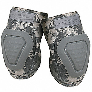 Non-Skid 2-Strap Elbow Pads, ACU Camo