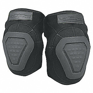 Non-Skid 2-Strap Elbow Pads, Olive Drab