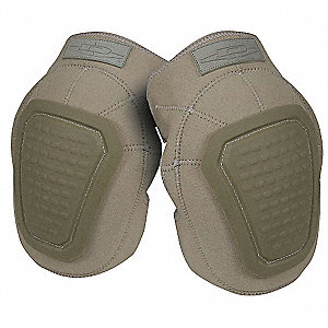 Non-Skid 2-Strap Knee Pads, Tan