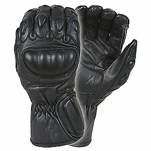 Law Enforcement Glove,XL,Black,PR