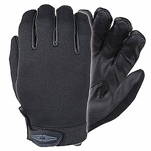 Cold Protection Gloves, Thinsulate Lining, Straight Cuff, Black, L, PR 1