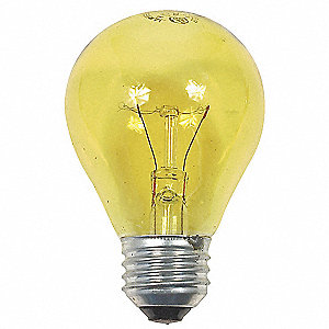 25 Watts Incandescent Lamp, A19, Medium Screw (E26), 1 EA