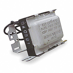 Magnetic Ballast, 8 Max. Lamp Watts, 120 V, Preheat Start, No Dimming