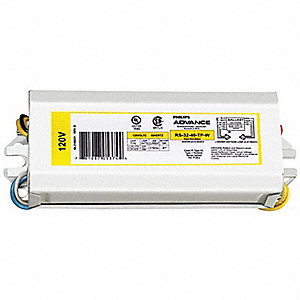 Magnetic Ballast, 2 Number of Lamps, 120 Voltage
