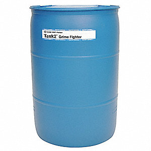 Cleaner, 54 gal. Drum, Mild Liquid, Ready to Use, 1 EA