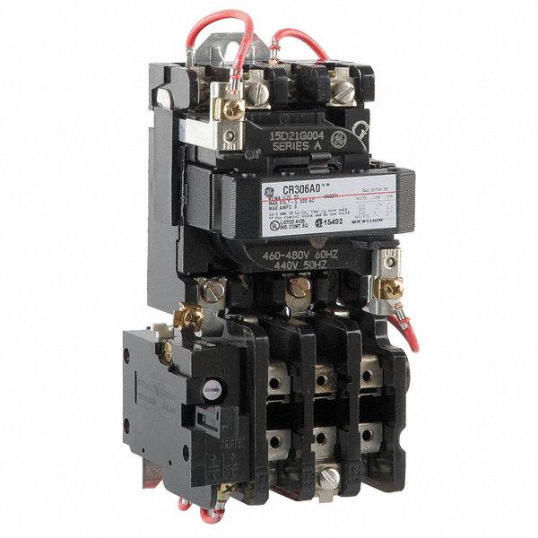 general electric magnetic motor starter 480vac coil volts. Black Bedroom Furniture Sets. Home Design Ideas