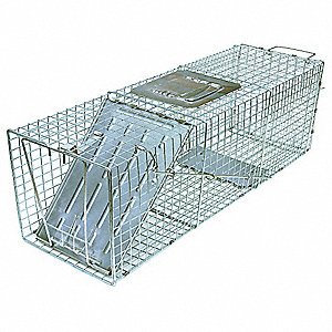 Live Animal Trap, 24x7x7 In.