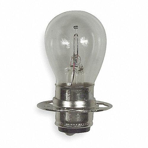 Bombilla Incadecente en Miniatura, Número Comercial 1630, 18 Watts, S8, Enfoque Previo de Doble Contacto (P15d), Voltaje 7