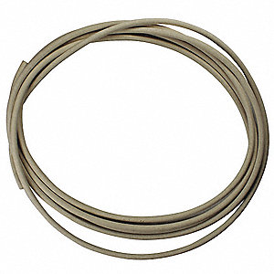 Rubber Cord,FDA Buna,3/8 In Dia,25 Ft.