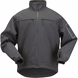 "Chameleon Jacket, XS Fits Chest Size 30"" to 32"", Black Color"