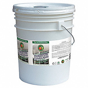 Cleaner and Polish,Size 5 gal.,Pail